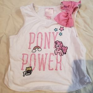 My Little Pony Glitter and Bow Top